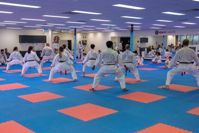 Some kata photos from Saturday's grading. Thanks for snapping @d.symonds! #gkrkarate #karate #kata #seiunchin #empi