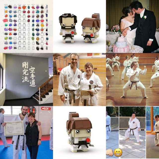 #bestnine2020 I can't believe there are no bunnies! #karate and #lego were definitely a thing though. Personally it wasn't a bad year, I look forward to better times for and with everyone else though 🤞🏻❤️ Swipe for the previous two years' best nines. #brickheadz #gkrkarate