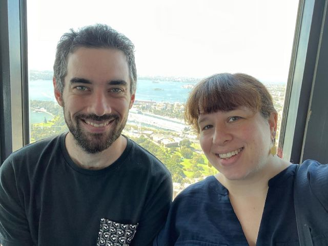 Birthday part two: Observation deck of Sydney Tower Eye. I don't think I had ever been up there before. Hyde Park looked particularly cool, as did St Mary's and St Andrew's. Thankful for the glorious weather! 😎
