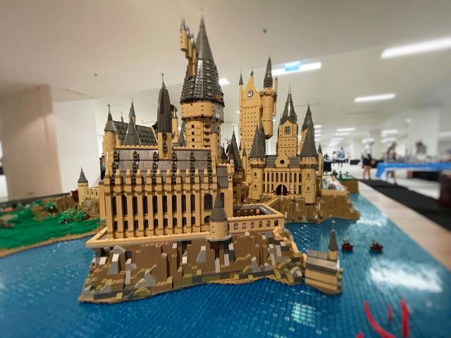 Squeezed in a visit to #sydlug #brickfair today. Good fun. Hogwarts was spectacular! #lego #afol